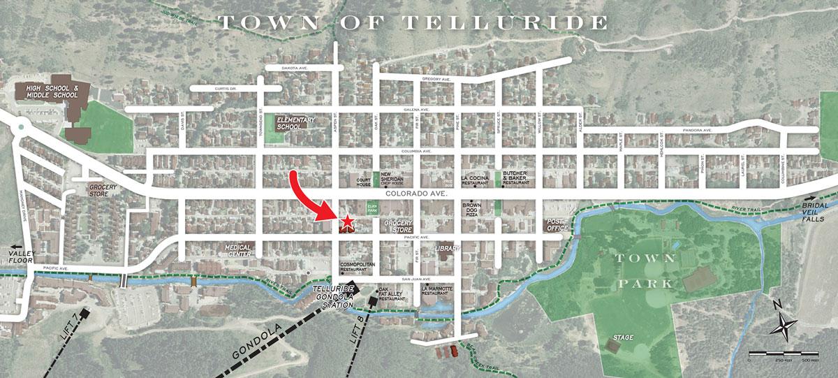 Stone's Throw Telluride CO