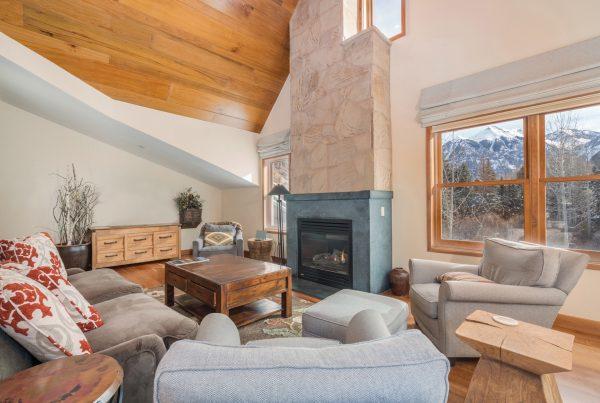 Element 52 A-10 Great Room, Telluride CO condo for sale